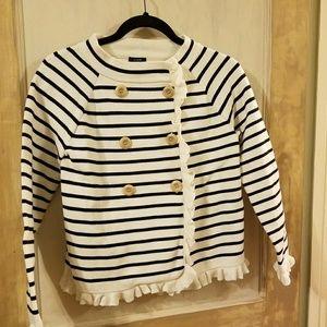 Smart cotton sweater